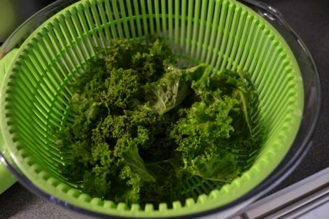 kale dry